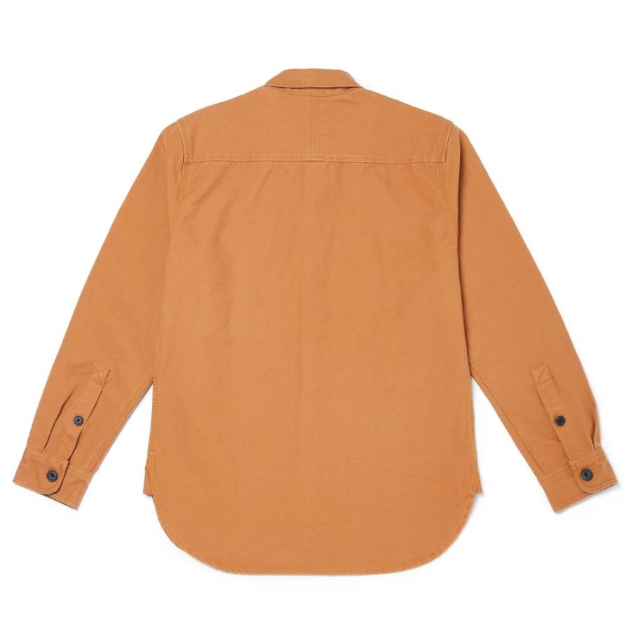 [A1ZZ6] 남성 간절기 셔켓 - 위트브라운