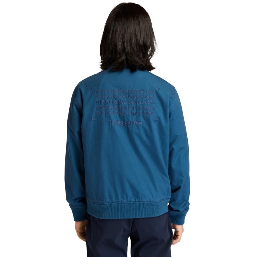 남성 봄버 블루종 - 딥블루(A22A2)