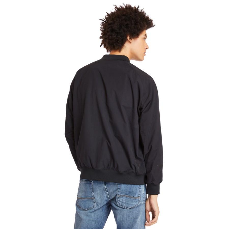 [A22U8] 플레인 봄버 자켓 - 블랙