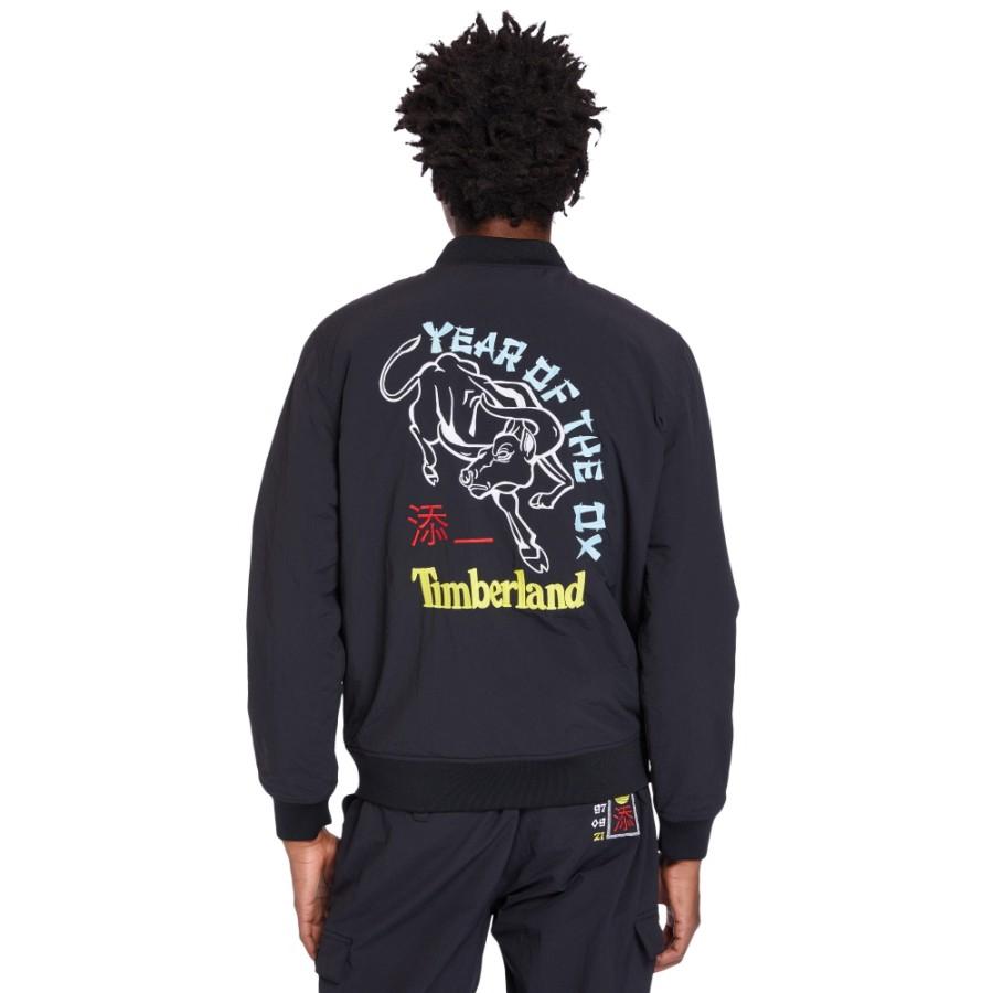 남성 리버시블 봄버 자켓-블랙(A2454)