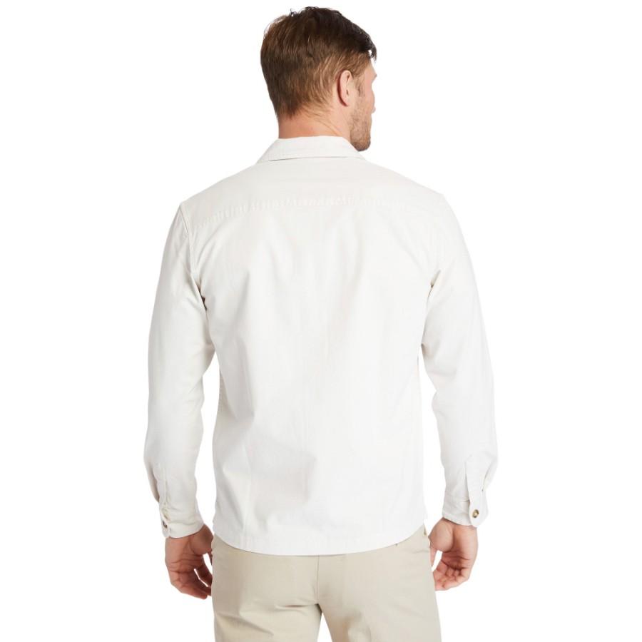 남성 Garment Dye 셔츠 - 화이트샌드(A2518)
