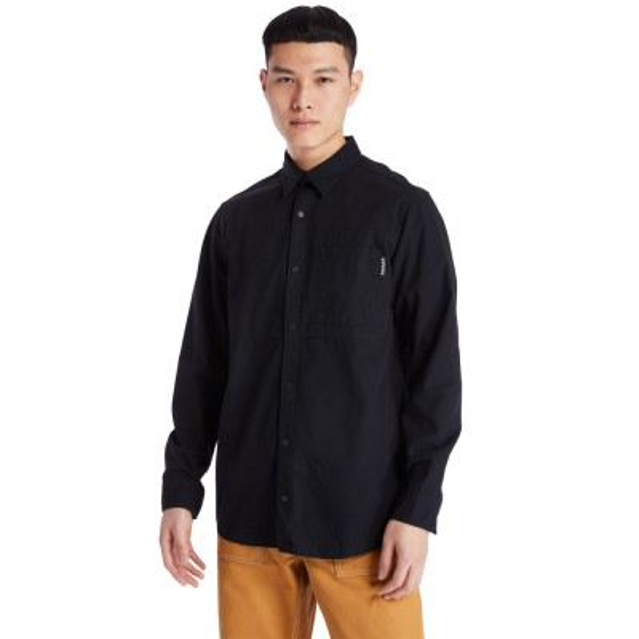 헤리티지 오버사이즈 셔츠 - 블랙(A2AC4)