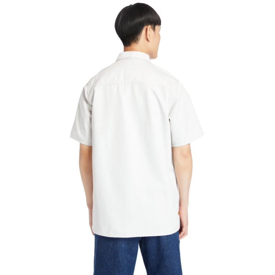 남성 워크웨어 유틸리티 셔츠 - 애쉬화이트(A2D5S)