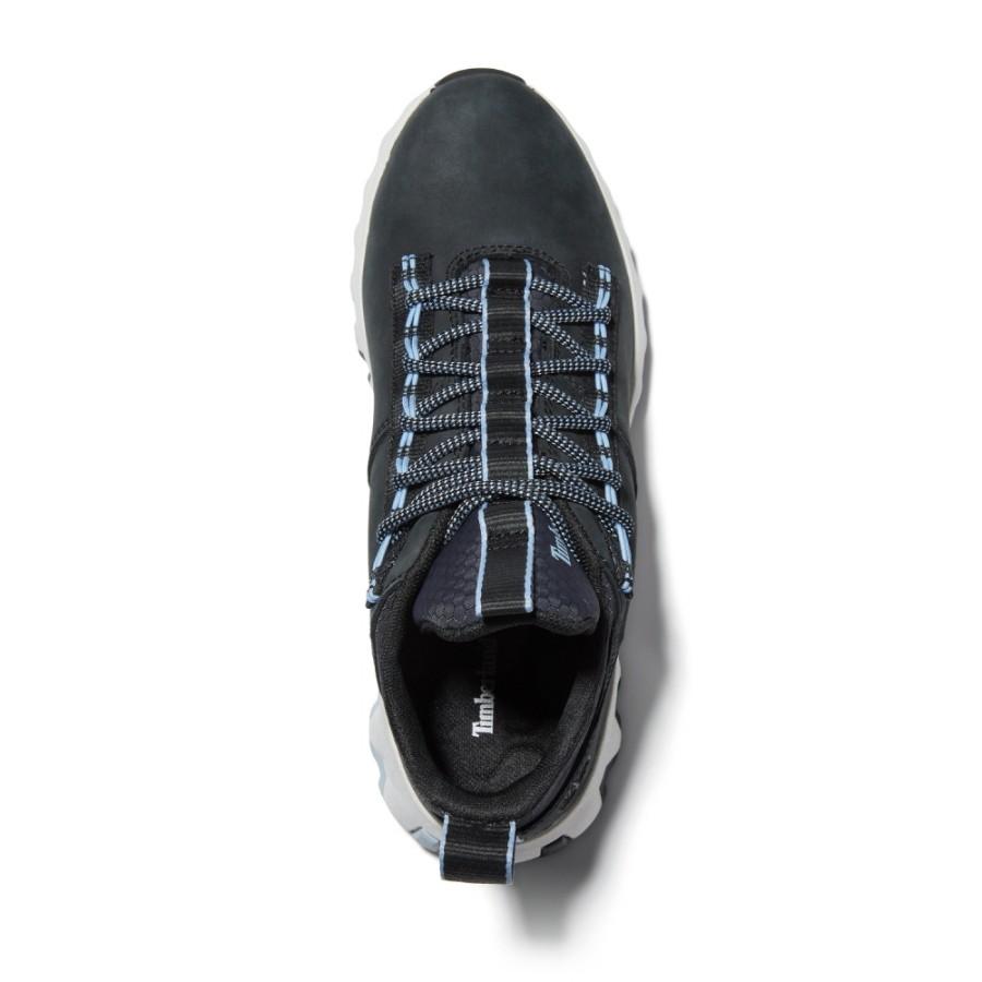여성 엣지 로우 스니커즈 - 블랙(A2G6C)