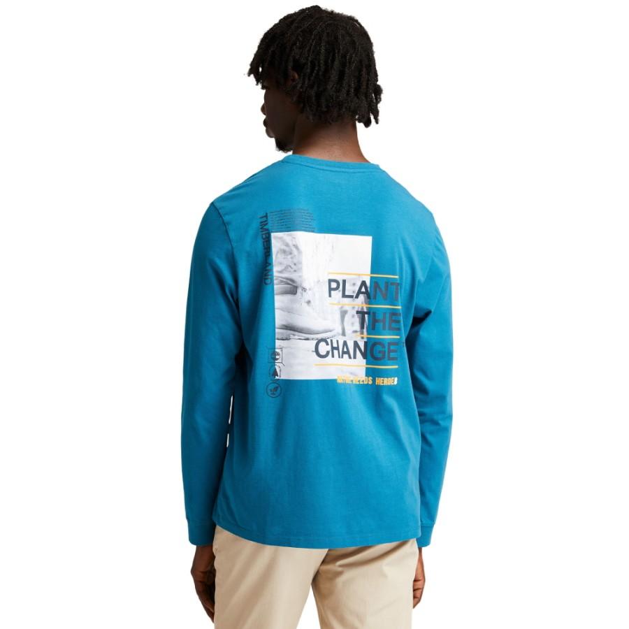 백그래픽 쭉티 - 블루(A4332)
